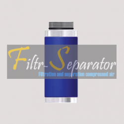 FF 03/1.5 Wkład filtra wstępnego Donaldson '80 Series Aluminium
