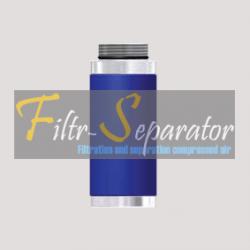FF 04/1.5 Wkład filtra wstępnego Donaldson '80 Series Aluminium