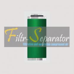 Wkład filtra dokładnego Hiross Aluminium 020P, 020 P