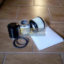 Zestaw filtrów do Kaeser SX4, SX6 Kaeser Control
