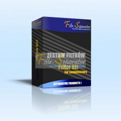 Filtry, Separator oleju, Zestaw filtrów do kompresora EUROPEA MISTRAL 2400