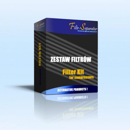 Filtry, Separator oleju, Zestaw filtrów do sprężarki MATTEI ERS 230