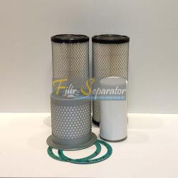 Zestaw filtrów do Compair C50 DLT0404