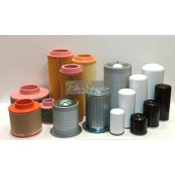 Komplet filtrów, zestaw serwisowy do ALUP Allegro 60, Allegro 80
