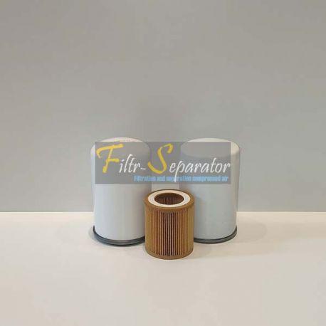 Zestaw filtrów do Atlas Copco GX2, GX3, GX4, GX5